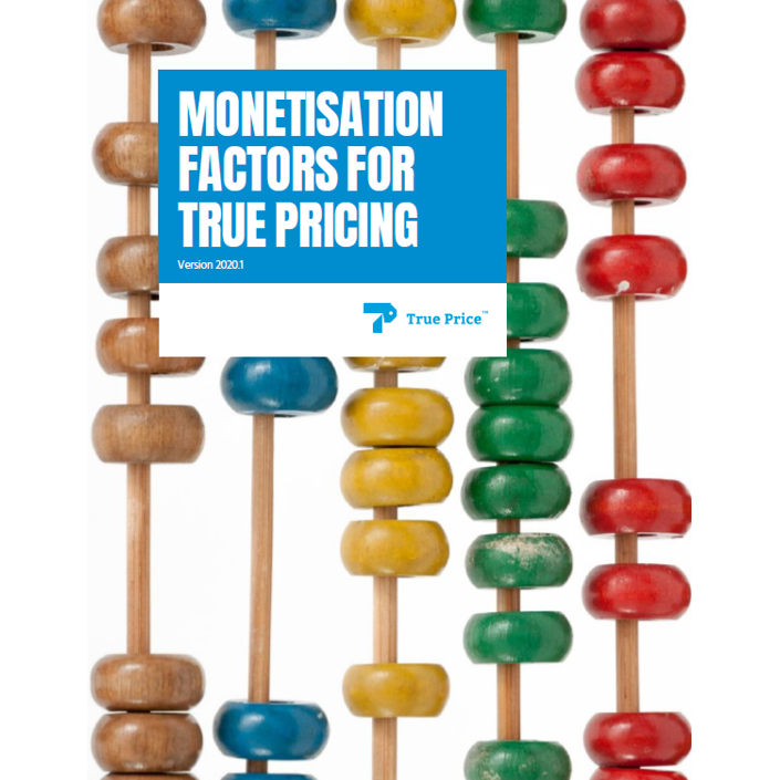 Monetisation Factors for True Pricing